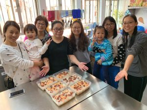"The Community Kitchen – a ""cook out"" option for grass-roots families"